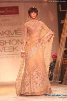 Tarun Tahiliani Show at Lakme Fashion Week Summer Resort 2014