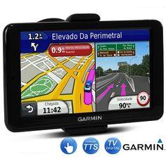 GPS Garmin Nuvi 2580 TV / Tela 5″ / Televisão Digital / Bluetooth / Modo Pedestre R$ 615,12
