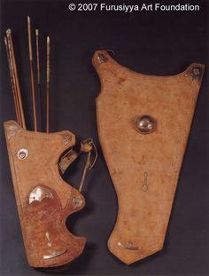 flèches et étuis pour arc Ottoman du 17eme siècle