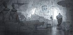 Artes de Peter Maynez para Rise of the Guardians, da DreamWorks | THECAB - The Concept Art Blog