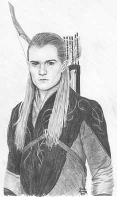 Legolas by HLMullaney on DeviantArt Legolas, Fellowship Of The Ring, Lord Of The Rings, Pencil Art Drawings, Drawing Sketches, Lotr Trilogy, Lotr Elves, Character Sketches, Tolkien