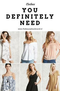I thought it was time for a wishlist. It gets warmer and I need to make place for some nice blouses. I love blouses so much and I definitely need a couple. I also have other clothes I definitely need. Curious which one? #fashion #clothes #cheap