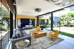 Brazilian House with Stylish Architecture and Rustic Materials - InteriorZine