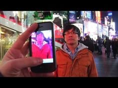 Time Square jumbo-trons hacked! I want to be friends with this guy so I can do this kinda cool stuff