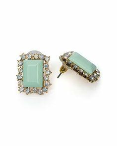 Mint Earrings.