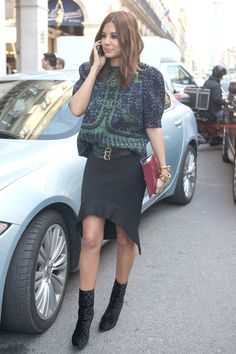 #PFW day 5: Everyone's wearing interesting skirt shapes