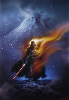 Vader on fire
