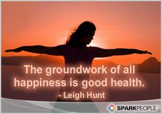We couldn't agree more! | via @SparkPeople #motivation #quote #health