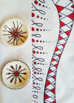 Handmade Clay Decor HandPainted Deco Plates Decorative Clay Pots, Hand Painted, Plates, Tableware, Handmade, Licence Plates, Dishes, Dinnerware, Hand Made