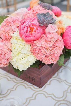 0{Spring bouquets and Happy Weekend!…}