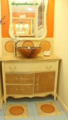 1000 images about boho bathroom on pinterest funky for Funky bathroom vanities