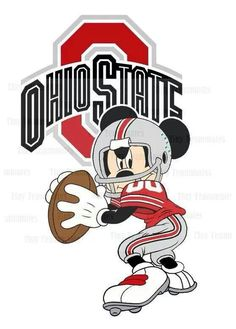 Ohio State Mickey Mouse!