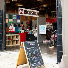 Rickshaw Bagworks shops - San Francisco, CA