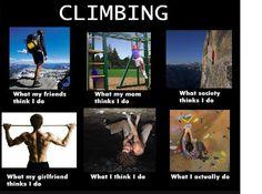 "American Alpine Institute - Climbing Blog: The ""What People Think"" Internet Meme 2"