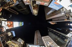Time Square with my #Fisheye  #NewYork #NewYorkCity #500px #NYC #photography #Manhattan #architecture #urban #building #city #sky #Nikon #Samyang