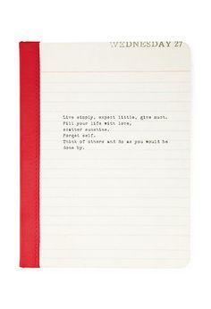 Live Simply Lined Journal | FOREVER 21 - 1055879845