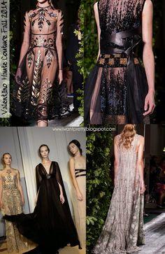 I want pretty: #FashionWeek- Lo mejor de #HauteCouture Fall 2014! #Valentino