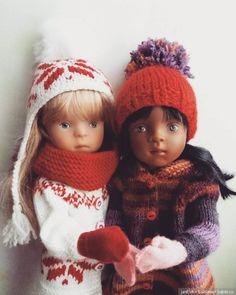 Варежки мои!Minouche Sylvia Natterer / Куклы Sylvia Natterer, Minouche и другие. Kathe Kruse и Petitcollin / Бэйбики. Куклы фото. Одежда для кукол