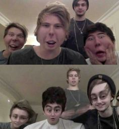 5 seconds of summer being themselves... What are we going to do with them???