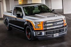 """2015 Ford F-150 by ADD pearl SEMA - nice truck if you removed the """"graphics """""""