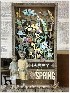 Spring Vignette Tray by Bobbi Smith