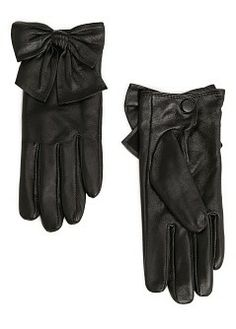MANGO - Accessories - Hats, Gloves and Scarves - Bowknot leather gloves in bordeaux