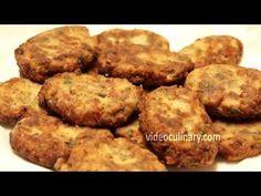 Italian Eggplant Patties Recipe (Vegetarian) by Video Culinary - YouTube