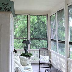 My sleeping porch.