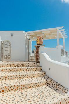Caldera Steps in Oia, Santorini