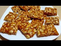 فاجئي العائلة باروع حلوى  ب 3 مكونات فقط سهلة وسريعة   (قرملو ) - YouTube Kinds Of Desserts, Cookie Desserts, Arabic Food, Low Carb Recipes, Waffles, Food And Drink, Sweets, Vegetables, Cooking