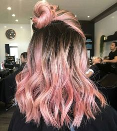 50 Lovable Short Ombre Haircut Ideas For Women, 50 Lovable Short Ombre Haircut Ideas For Women 50 Lovable Short Ombre Haircut Ideas For Women. hair makeup 50 Lovable Short Ombre Haircut Ideas For Women, Bold Hair Color, Ombre Hair Color, Galaxy Hair Color, Dyed Hair Ombre, Hair Dye Colors, Cabelo Rose Gold, Pastel Pink Hair, Bright Pink Hair, Purple Hair