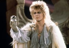 1986 - David Bowie as Jareth, The Goblin King in Labyrinth film. David Bowie Labyrinth, Labyrinth Film, Jareth Labyrinth, Labyrinth Quotes, Goblin King, Lambada, Michel Delpech, Labrynth, Magick