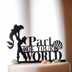 Wedding Cake Wednesday: Ariel Under the Sea CakeEver After Blog | Disney Fairy Tale Weddings and Honeymoon