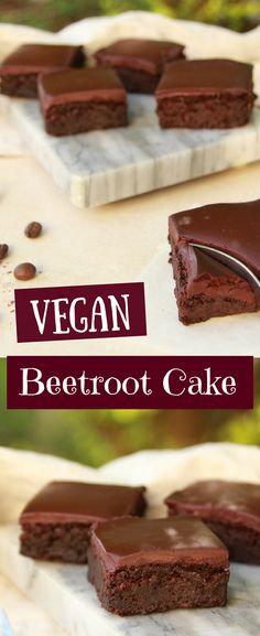 This vegan, #glutenfree, oil free, refined sugar free beetroot cake is packed with flavor, and chocolate goodness! The cake is super fudgy and moist, and topped with a rich, heavenly layer of vegan chocolate ganache. The cake takes minimal time to prepare, and tastes divine! #vegancake #beetroot #plantbased #oilfree