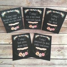 Milestone Cards Alternative Mummy Milestone Cards / by DiosDesigns