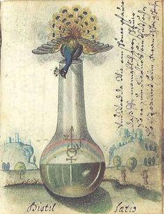 Alchemical Imagery - Emblematic - Manuscripts - Ulrich Ruosch