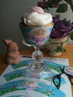 Printable Ostara Cupcake Wraps and Ostara Cupcake Recipe ideas by MickieMuellerStudio