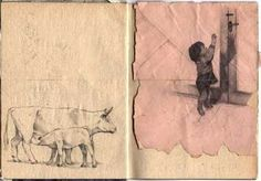 Artist:Jamie Shovlin / Through the Sketchbook