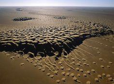Sand dunes, Rub al Khali.  http://oddstuffmagazine.com/wp-content/uploads/2012/05/1799.jpg