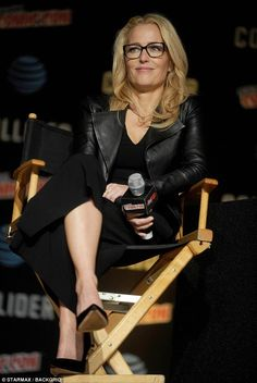 Bombshell: During an appearance at New York Comic Con on Sunday, Gillian Anderson hinted t...