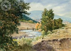 John Bohnenberger (1926-2012) - The Valley