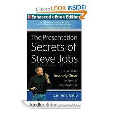 The Presenation Secrets of Steve Jobs