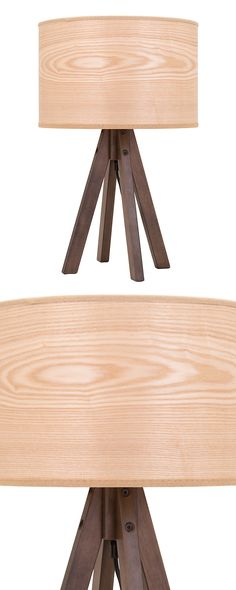 Decorate your neck of the woods with lighting that fits your rustic style. Our Sawyer Table Lamp is designed with a wood-inspired lamp shade and rich wooden legs. Its four-legged base adds a modern tou...  Find the Sawyer Table Lamp, as seen in the A Romantic Modern Escape Collection at http://dotandbo.com/collections/a-romantic-modern-escape?utm_source=pinterest&utm_medium=organic&db_sku=120943