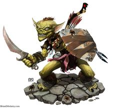 Goblin Warrior by geministranger.deviantart.com on @DeviantArt