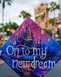 On to my next dream #Disney grad Cap design // follow us Motivation2Study for da... -