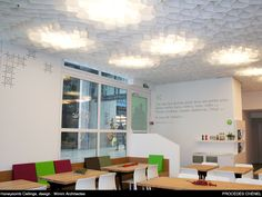 M1 Paper Ceiling | honeycomb ceiling