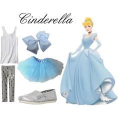 Cinderella Inspired Casual Girl's Outfit