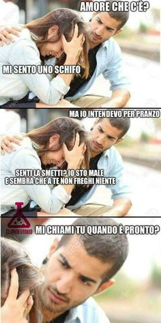 Amore, che prepari? Even When It Hurts, Smiling People, Italian Memes, Funny Times, Cheer Up, Funny Cute, Funny Pictures, Jokes, Laughing
