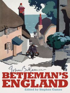 Betjeman's England. Cover illustration by Brian Cook