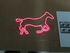 Galloping Horse Electroluminescent Display